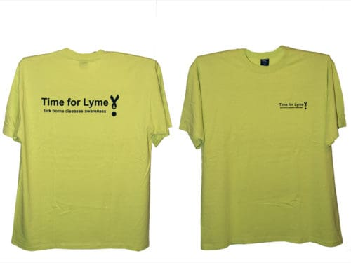T-shirt Time For Lyme