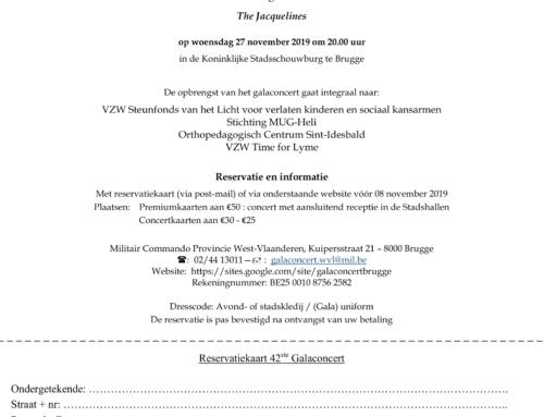 27 november 2019 – Galaconcert Brugge